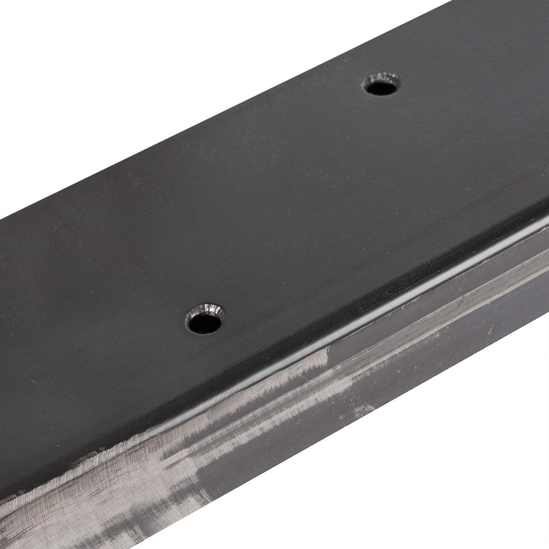 Noir Fonc/é Cadre 30x43 cm HLT-01-C-AA-9005 HOLZBRINK 1x Pied de Table en Profil/és dAcier 80x20 mm