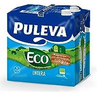 Puleva Leche Ecológica Entera Bio - Pack 6
