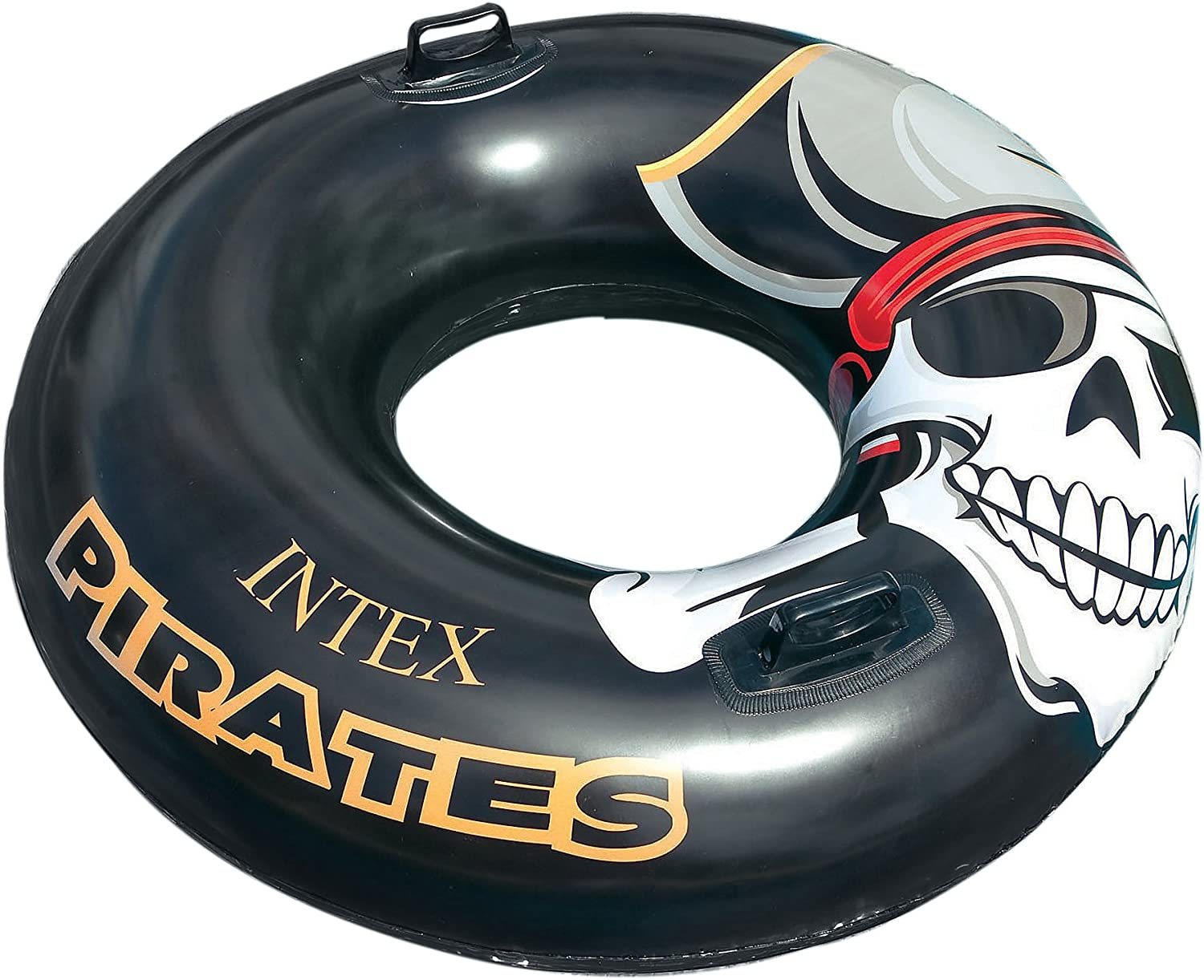 Intex 42 Swimming Pool Inflatable Pirate Tube Float Home Garden Pools Spas