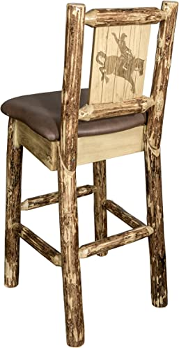 Montana Wooodworks Glacier Country Collection Barstool