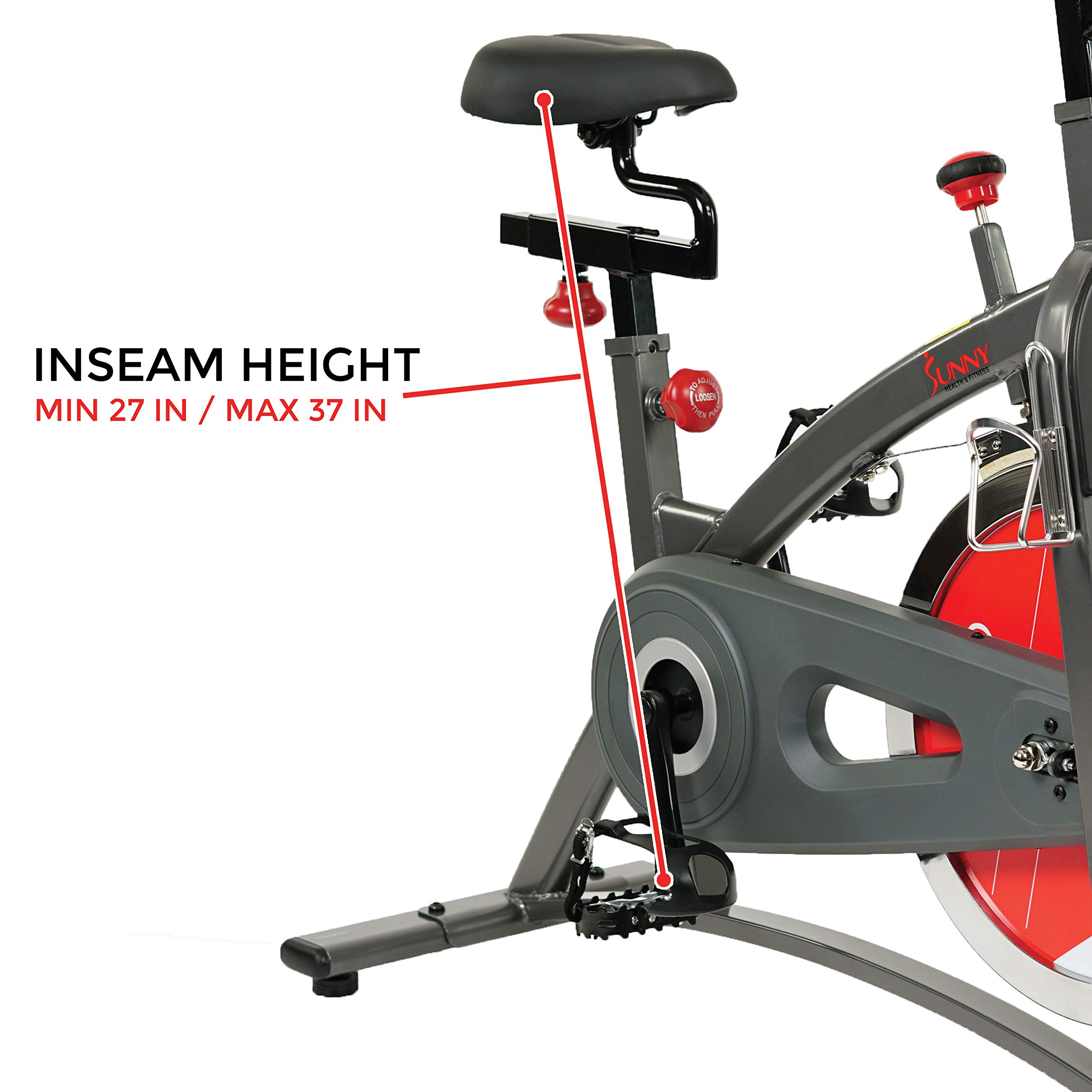 Sunny Health & Fitness Belt Drive Indoor Cycling Bike SF-B1423 by Sunny Health & Fitness (Image #15)
