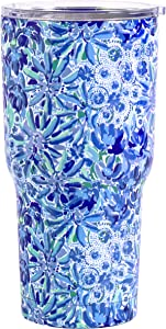 Lilly Pulitzer Insulated Tumbler High Maintenance One Size