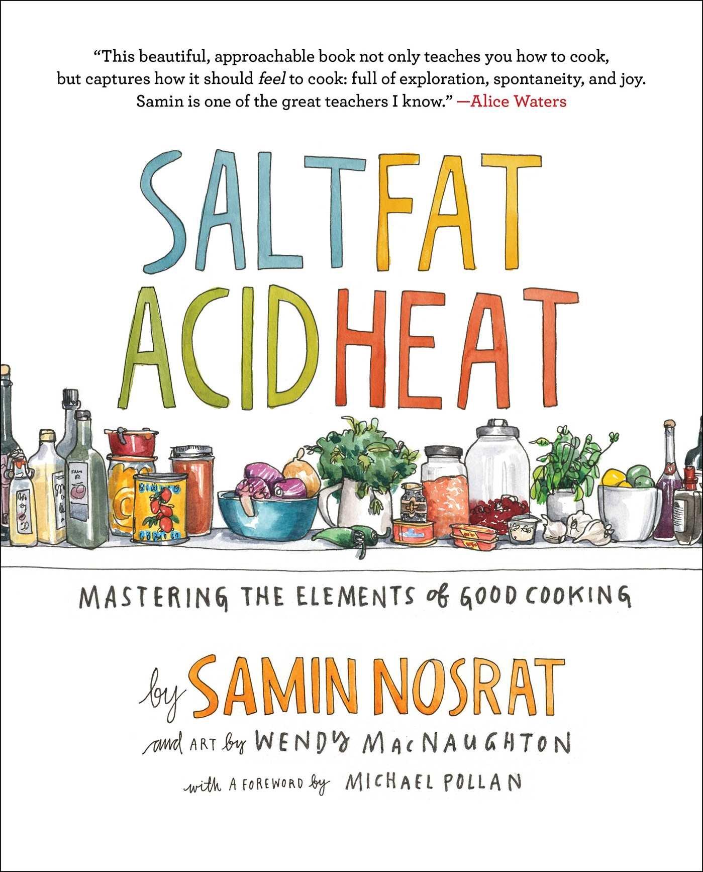 Salt Fat Acid Heat Mastering product image