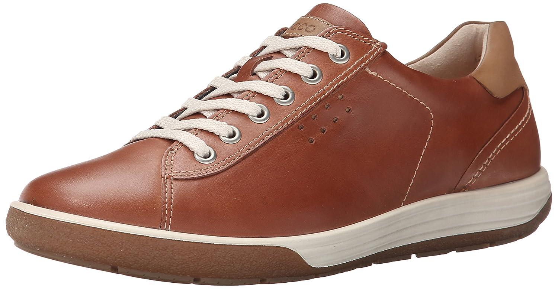 ECCO Women's Chase II Tie Sneaker B00O8G2SW0 39 EU/8-8.5 M US|Mahogany