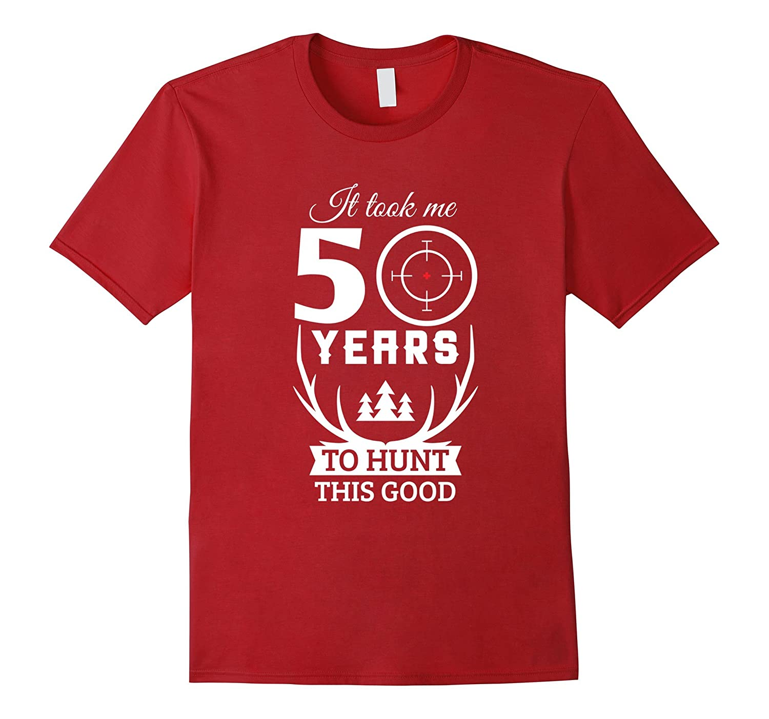 50 Years Old Happy 50th Birthday for Hunters-Rose