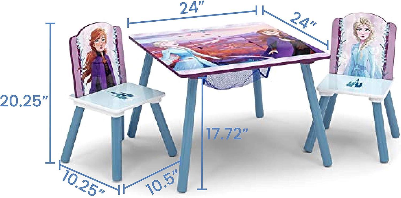 Juego de sillas y mesa Delta para niños, Disney/Pixar Cars, Disney Frozen II: Amazon.es: Bebé