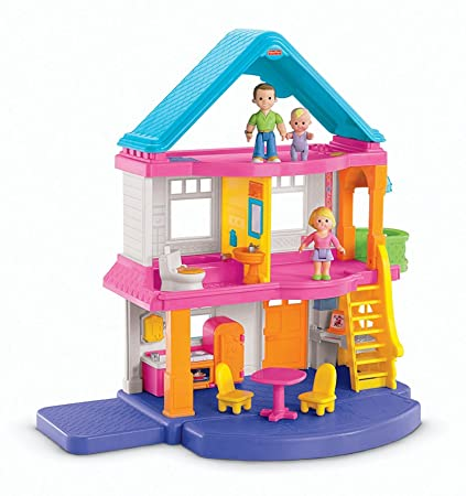 Amazon Com Fisher Price My First Dollhouse Amazon Exclusive Toys