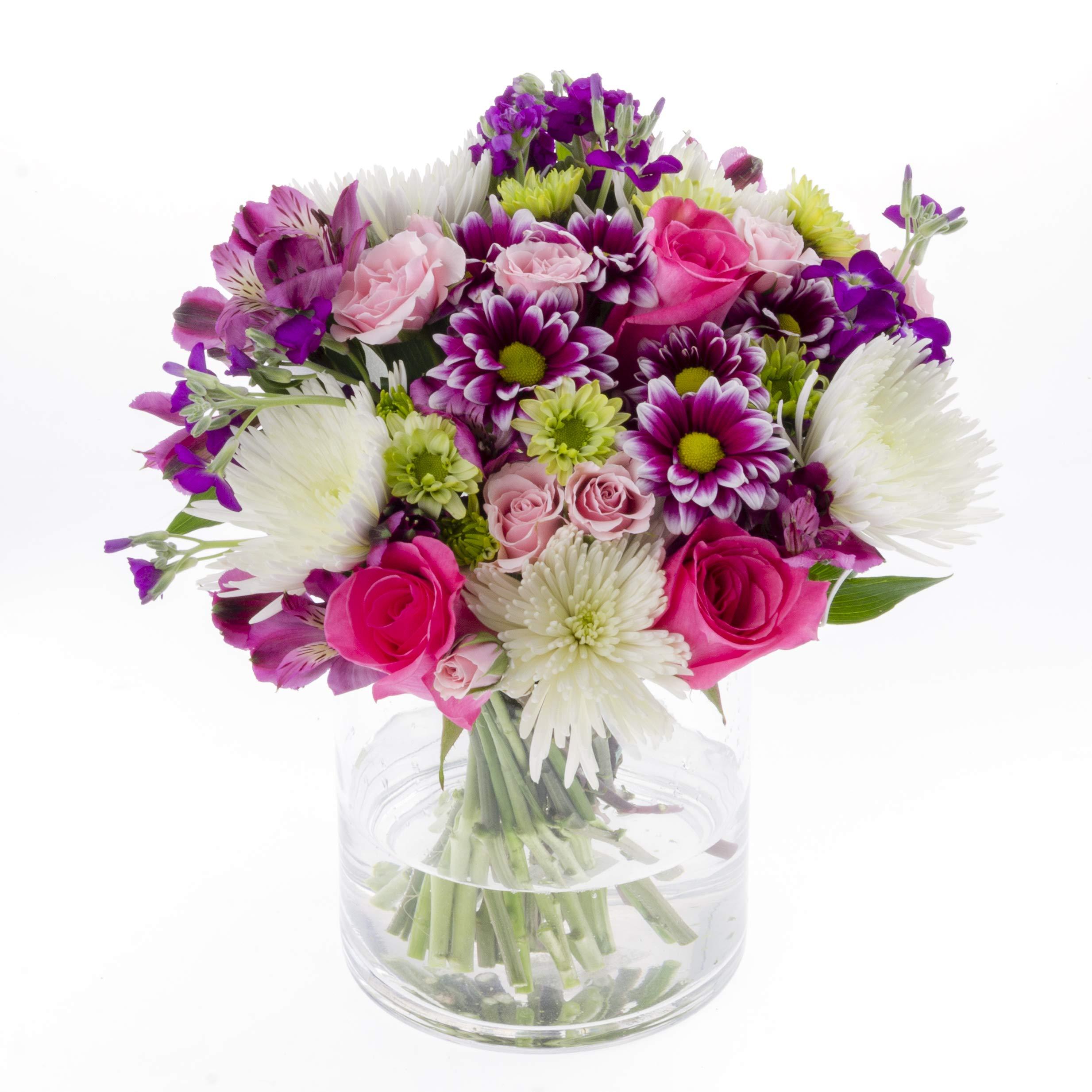 Vistaflor - Promise Vase Floral Arrangement by eFlowy