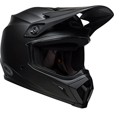 Bell MX-9 MIPS Equipped Motorcycle Helmet (Solid Matte Black, Large): Automotive