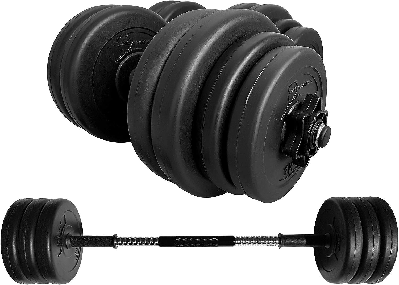Body Revolution Vinilo Pesa & Pesas Juego - Ajustable Pesas Libres 10 Kg 15kg 20kg 30 Kg 40 Kg 50kg