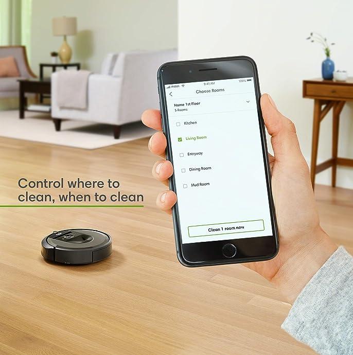 iRobot Roomba i7 (7150) 智能语音 扫地机器人 6.2折$499 海淘转运到手约¥3942