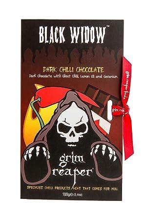 Grimreaper – Black Widow – Chili Chocolate – 100g