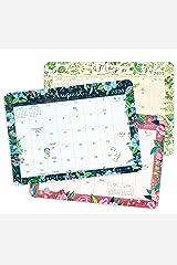 "Katie Daisy 2020 - 2021 Desk Pad Calendar (17-Month Aug 2020 - Dec 2021, 18.75"" x 13.5"") Calendar"