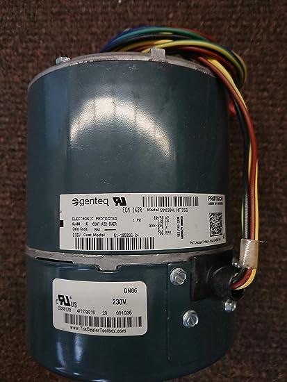 2 phase wiring condenser protech ecm condenser fan motor 1 2 hp  rpm 700  phase 1  208  protech ecm condenser fan motor 1 2