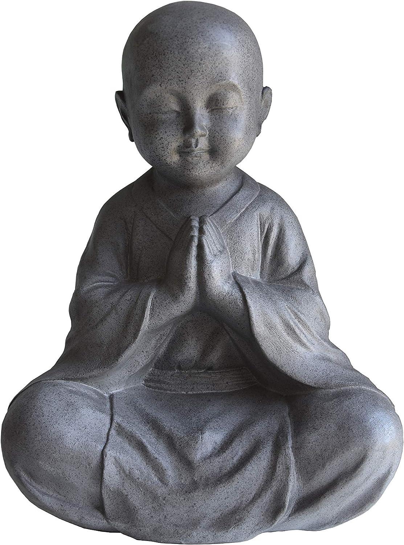JIXIN Sitting Praying Buddha Statue 13.5