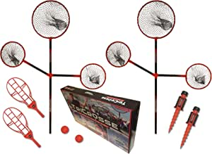 TriCrosse Pro Set for Beach & Backyard - New Outdoor Game for Kids, Adults & Family