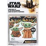Perler 80-63090 The Mandalorian Baby Yoda Star Wars - Juego de ampollas de cuentas, 1004 unidades