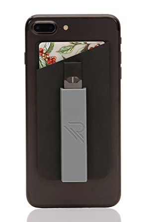 RipGrip (Jet Black, 1 Unit Premium JUUL Holder - Accessories, Phone Case,  and Sleeve