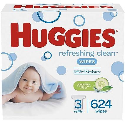 Amazon.com: Huggies - Toallitas perfumadas para bebé ...