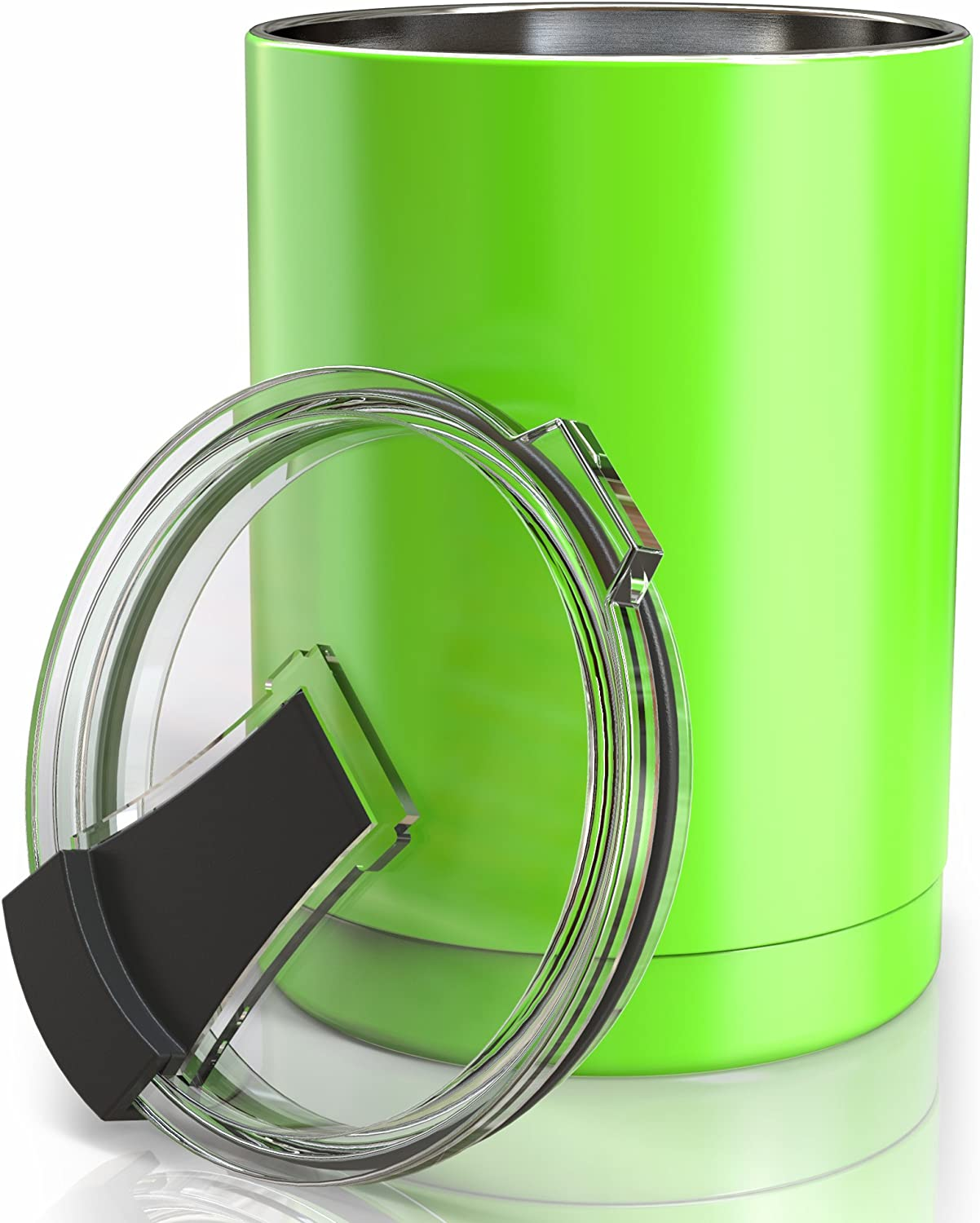 Lowball 10 oz Tumbler Vacuum Green Apple Insulated Stainless Steel