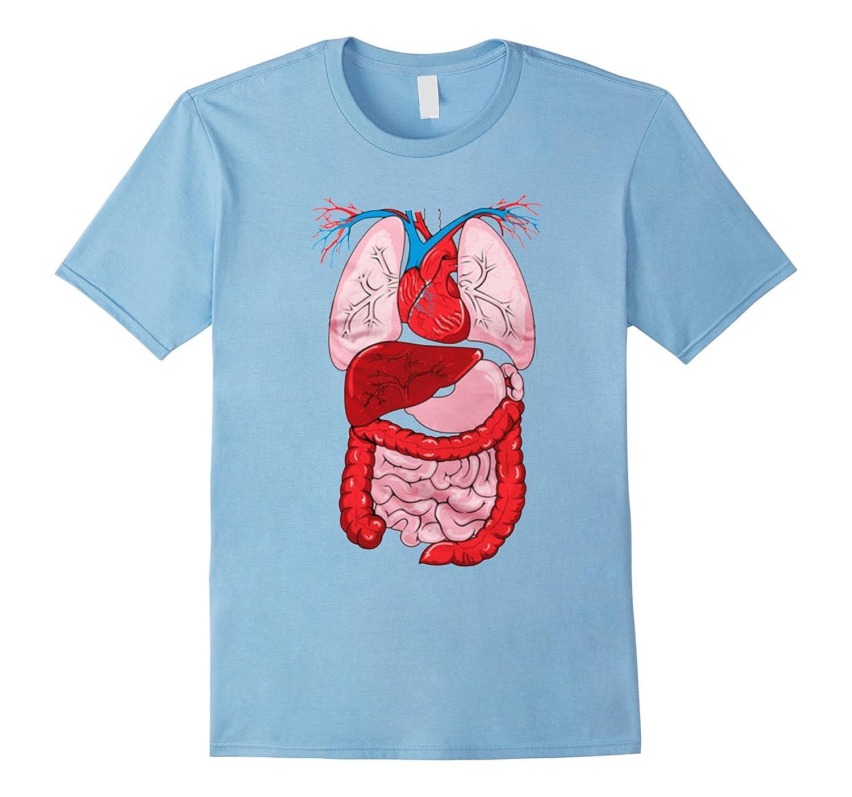 Inside My Human Body Internal Organ Diagram Anatomy T-shirt-FL ...