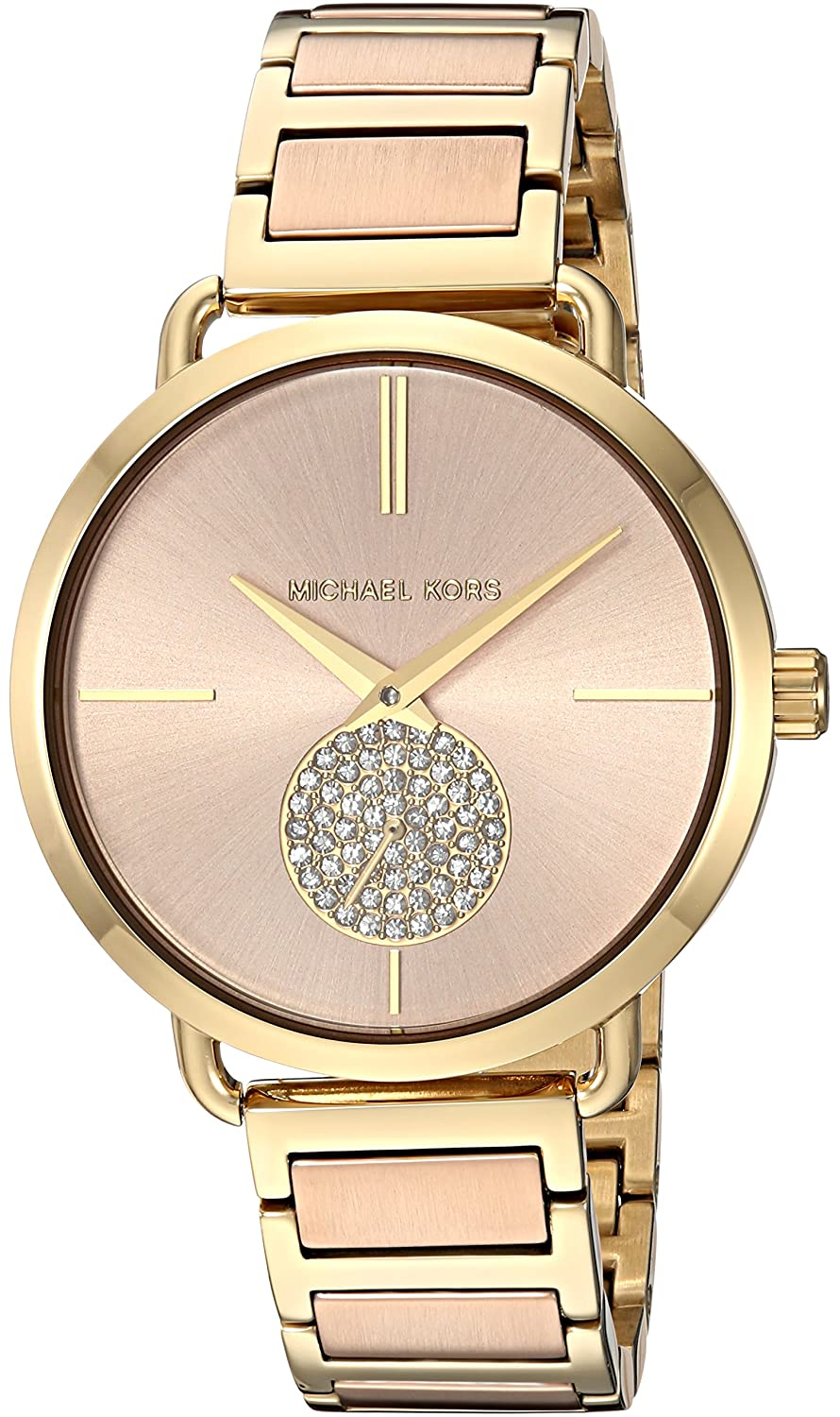 19b3e4658b21 Michael Kors Women s Analogue Quartz Watch with Stainless Steel Strap MK3706   Michael Kors  Amazon.co.uk  Watches