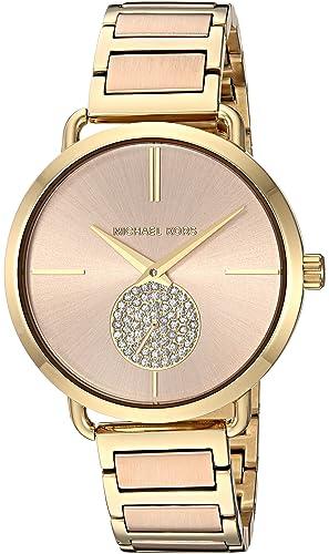 Michael Kors Reloj Analogico para Mujer de Cuarzo con Correa en Acero Inoxidable MK3706: Michael Kors: Amazon.es: Relojes