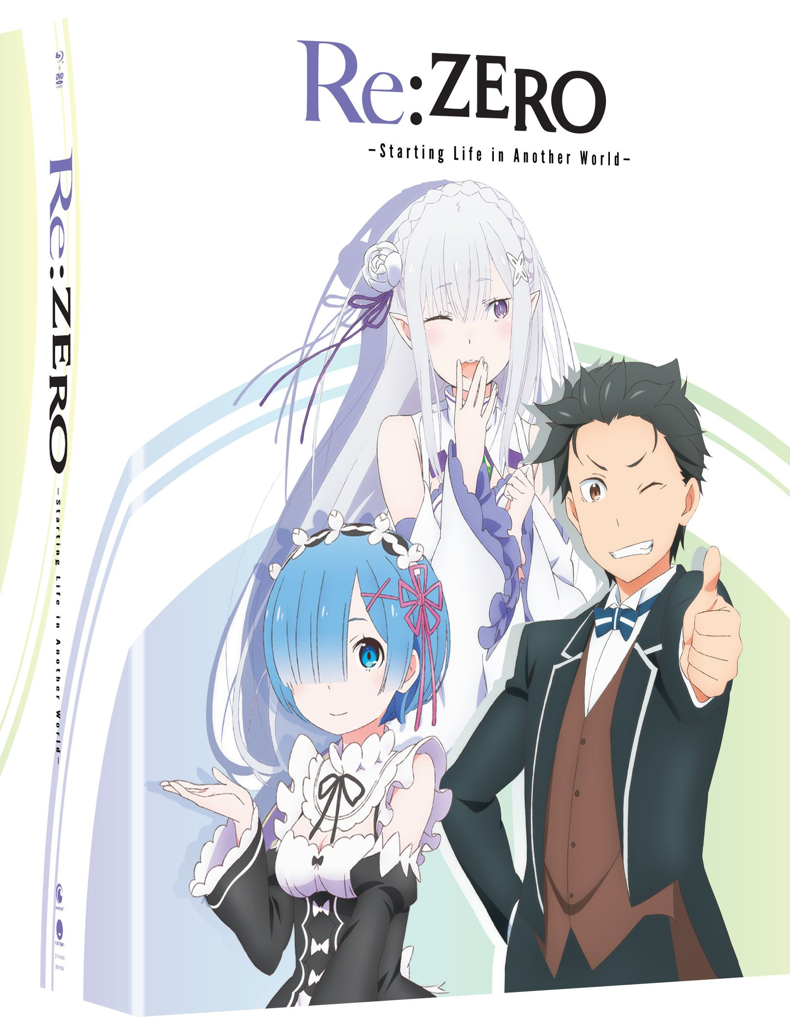 Blu-ray : Re:zero - Starting Life In Another World: Season One - Part One (With DVD, Limited Edition, Boxed Set, Subtitled, 4PC)