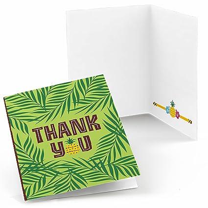 Amazon Com Big Dot Of Happiness Tiki Luau Tropical Hawaiian