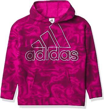 adidas Girls' Little Kid FLC Clrblck Hooded Pullover