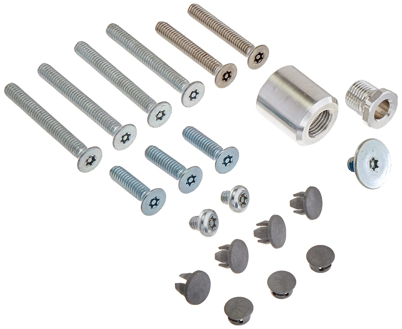 Included-81 Top Notch Distributors LCN 4040SETBTRX 4040SE-TBTRX 689 Aluminum Screw Pack