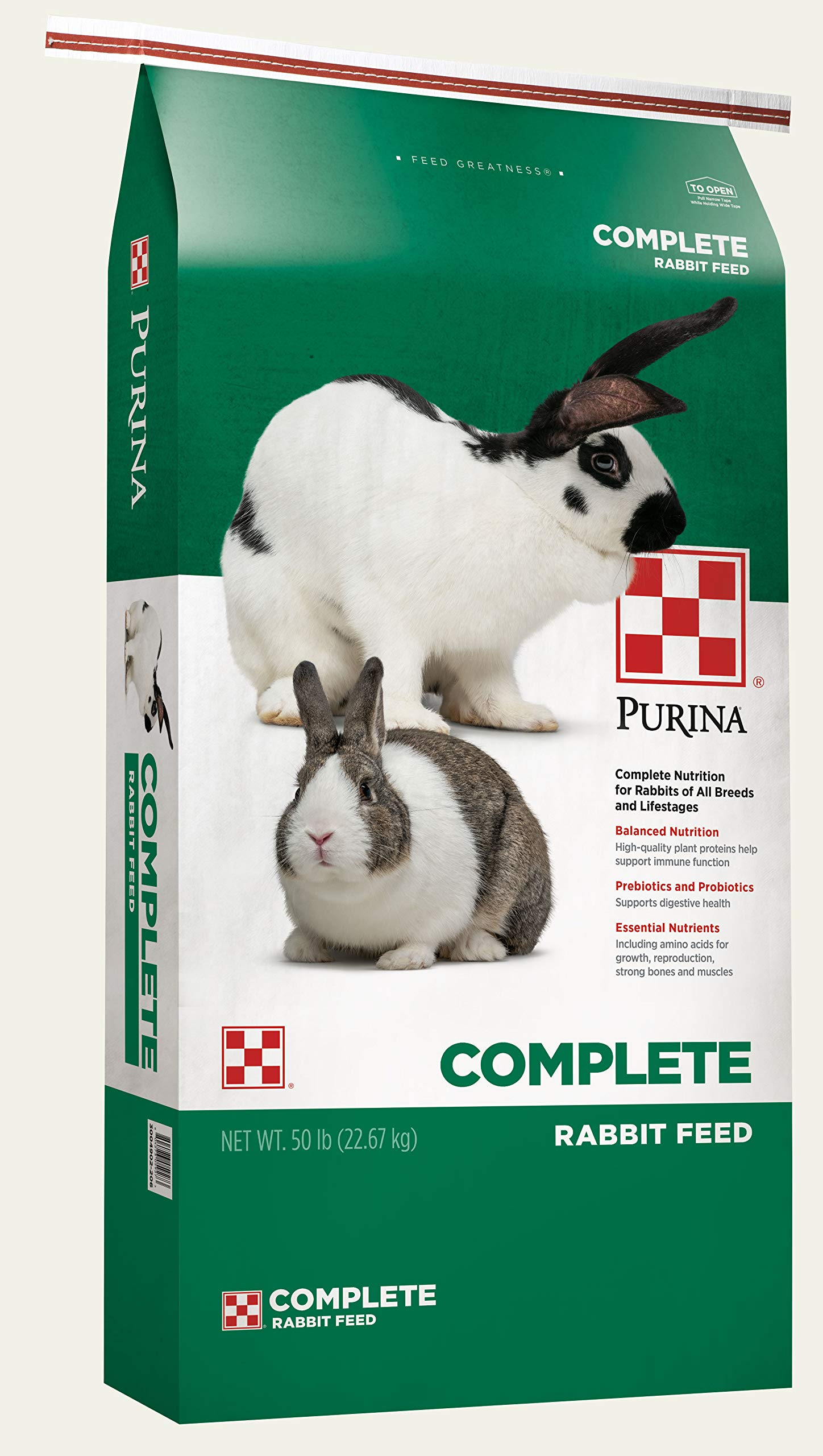 Purina Rabbit Food Complete Pellets, 25 lb by Purina