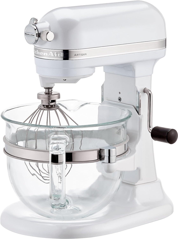 KitchenAid 5KSM6521X - Batidora (Color blanco, 50/60 Hz): KitchenAid: Amazon.es: Hogar