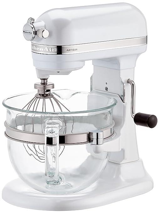 Kitchenaid, 5KSM6521XEFP, Robot da cucina Artisan, con ciotola in ...