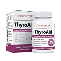 Thyroid Support Supplement - Natural Herbal Thyroid Formula with Iodine (Kelp),...