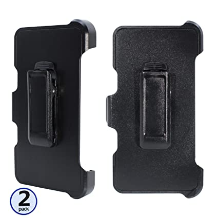 2PCS 2 Pack Replacement Holster Belt Clip for Apple iPhone Xs//iPhone X//iPhone 10 Otterbox Defender Case
