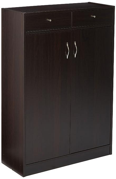 furniture shoe storage. 247SHOPATHOME 6138 Five Shelf Shoe Storage Cabinet, Cappuccino Furniture Shoe Storage