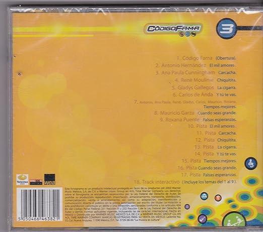 Antonio Hernandez, Ana Paula Cunningham Codigo Fama - Plataforma 3: Varios Artistas - Amazon.com Music