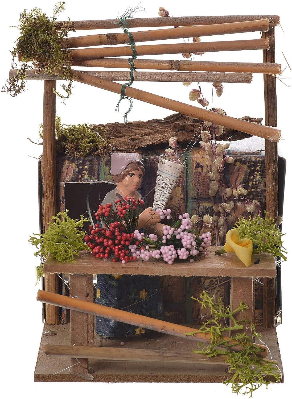 Holyart Vendedora de Flores Movimiento Belénù 7 cm.: Amazon.es: Hogar