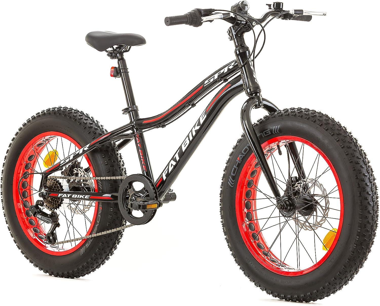 Bicicleta FatBike de 20 pulgadas, con cuadro de aluminio, 6 ...