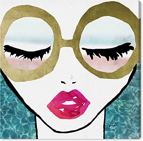 The Oliver Gal Artist Co. Fashion and Glam Wall Art Canvas Prints 'Ready