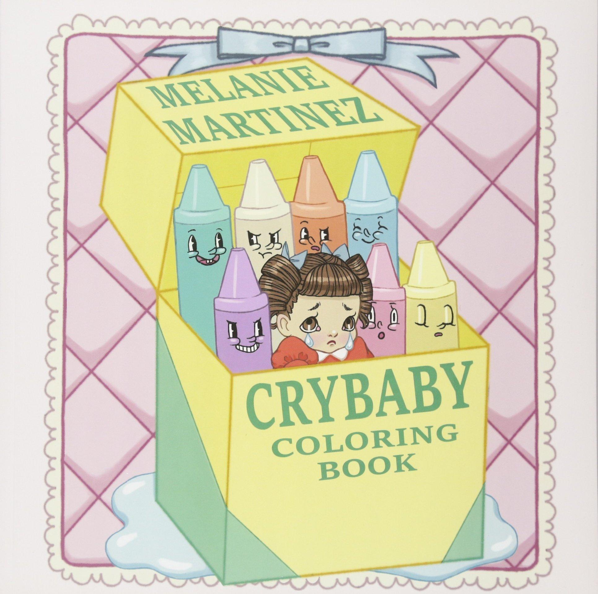 Cry Baby Coloring Book: Melanie Martinez: 9781612436869: Amazon.com ...