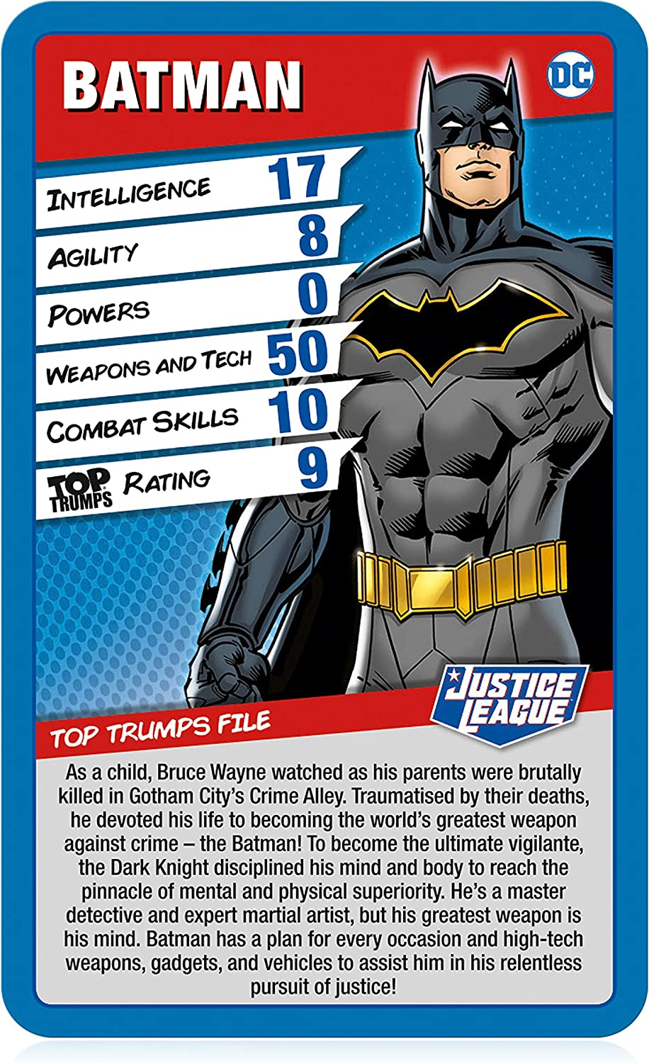 Top Trumps Brand New Justice League Comic Edition