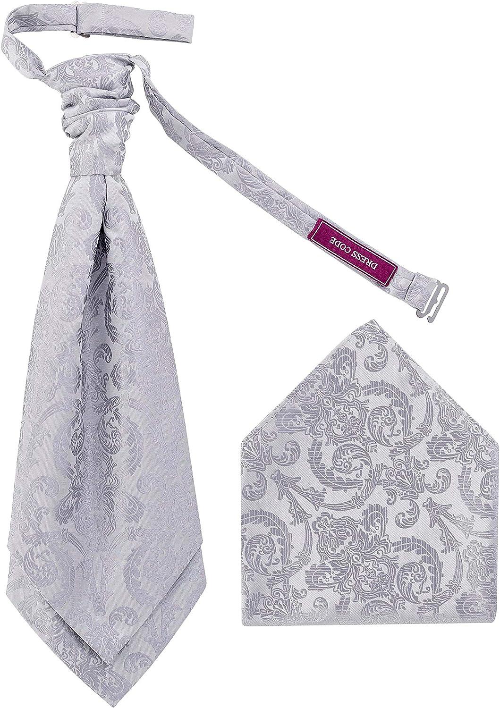 DressCode Cravat Set con pañuelo cuadrado de bolsillo, corbata de ...
