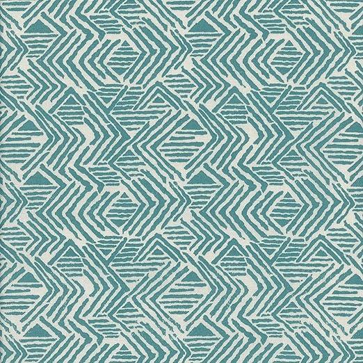 Tela ALFA (celadón oscuro & beige) - 100% algodón suave | ancho ...