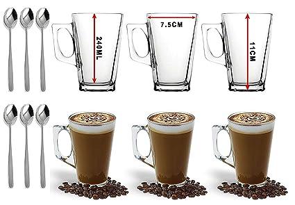 Ever Rich Taza de té café Latte de 240/300 ml (Adecuada para Tassimo