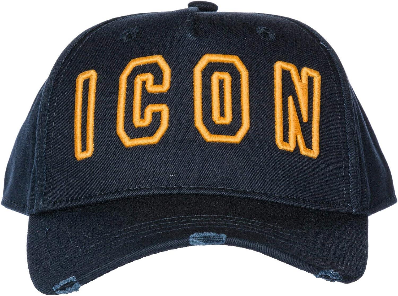 Dsquared2 Icon Gorra de Beisbol Hombre BLU: Amazon.es: Ropa y ...