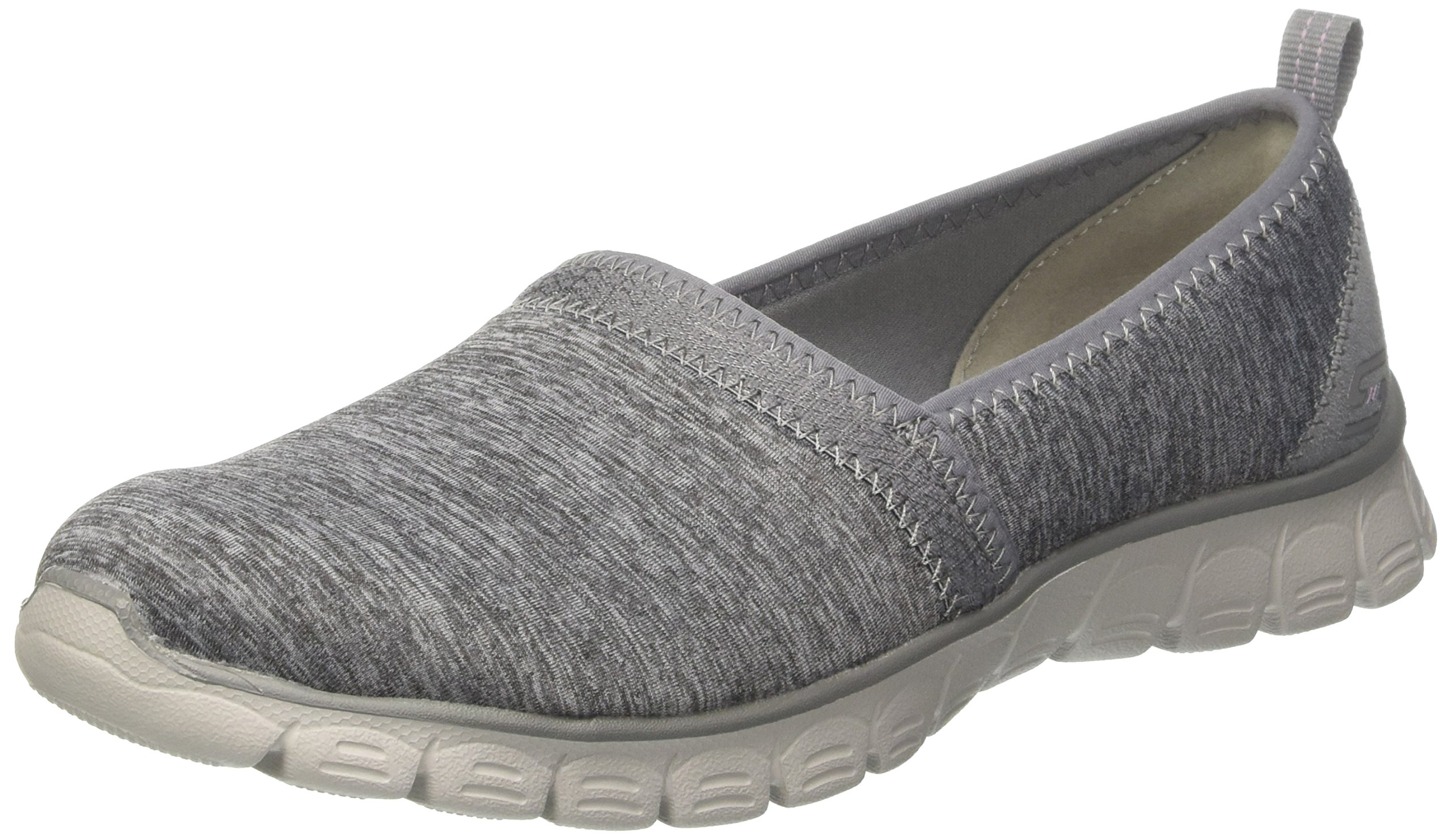 Skechers Women's, EZ Flex 3.0 Swift Motion Slip on Shoes Gray 9.5 M