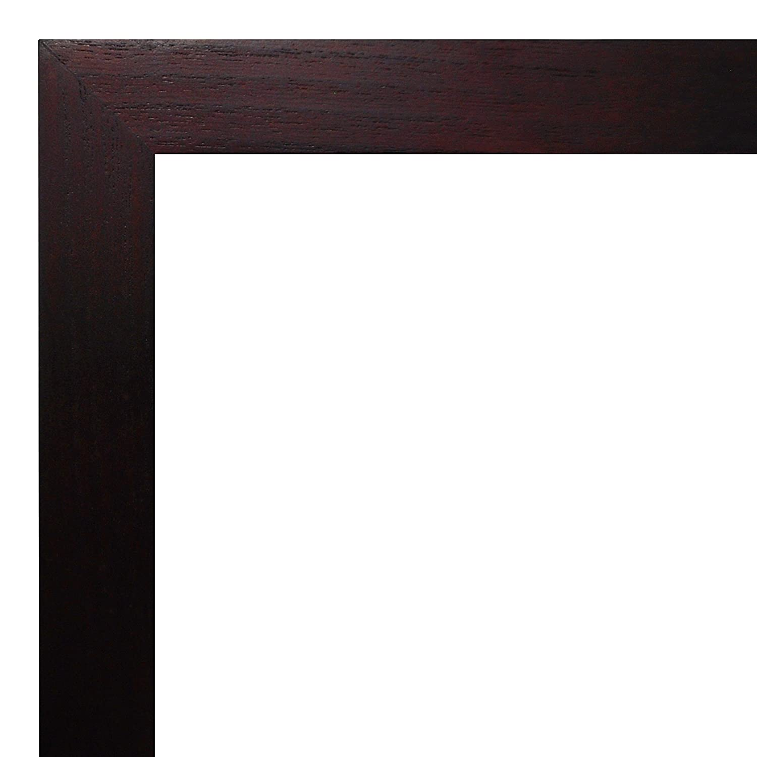 Walnut MCS Art 12 by 16-Inch Shadow Box Frame with 8 by 12-Inch Mat Opening