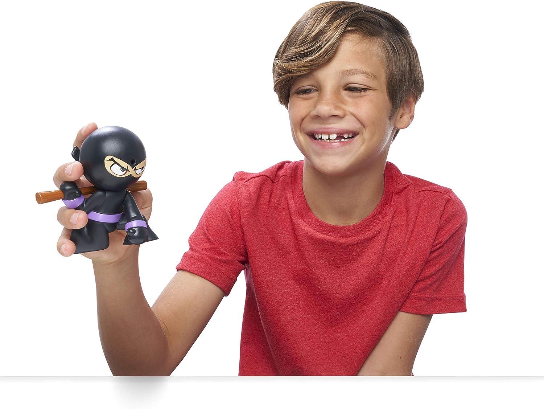 Black//Purple Funrise International 70506 Morado Color Negro Juguete Fart Ninjas Stink FOO